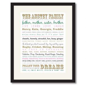 Family Memories Print